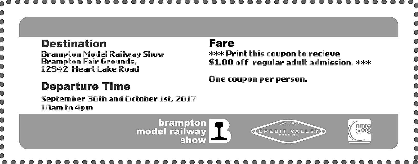 2017 BMRS coupon
