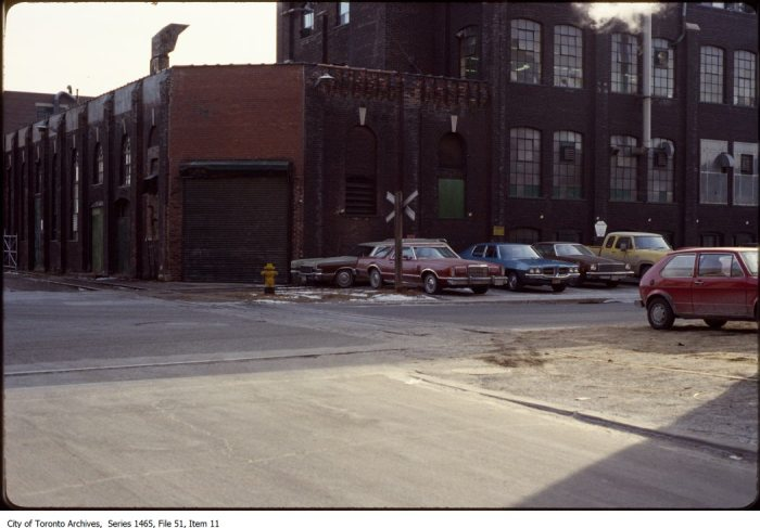 District, King Street West and Spadina Avenue. - [between 1977 and 1998]